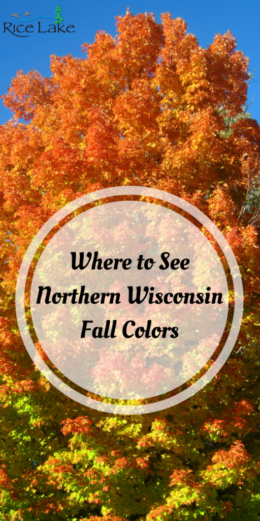 Where to See Northern Wisconsin Fall Colors
