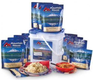 packaged freeze-dried meals